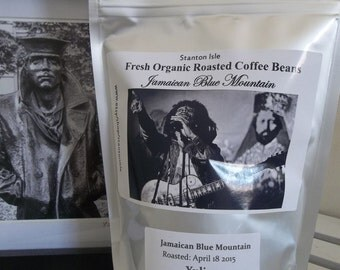Direct Trade 100% pure certified Jamaica Blue Mountain Estate Coffee