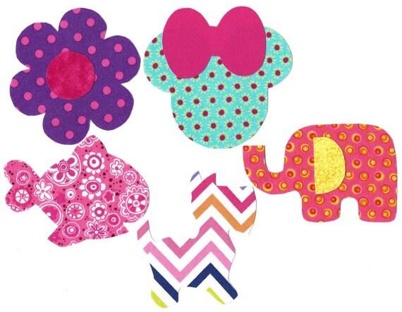 ... shower, DIY flower, fish, dog, elephant, Minnie, whale, duck, boat