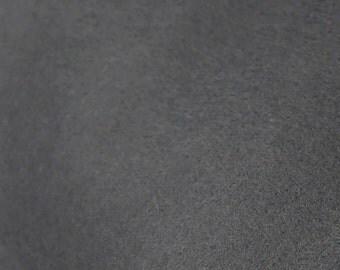 100% Wool Felt Sheet - 8x12 - CHARCOAL