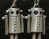 ROBot Earrings:Rivets