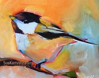 whimsical little warm chickadee #5