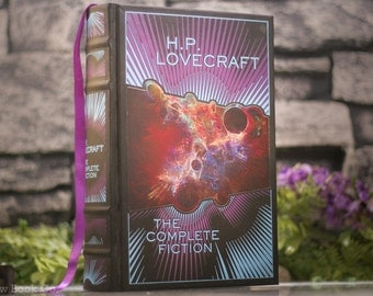 Hollow Book Safe - H.P. Lovecraft (LEATHER BOUND)