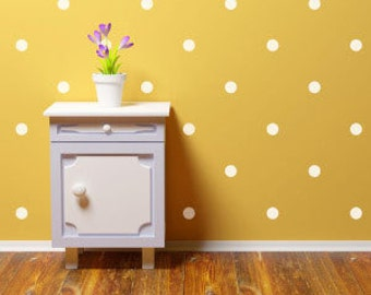 White Room Polka Dot Wall Decals
