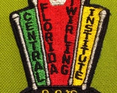 Fabric Patch Central Florida Twirling Institute Embroidered Patch Fabric Badge