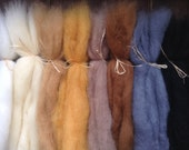Mohair blend roving-Doll/Figure Hair-Reroot Hair-Needle Felting Wool