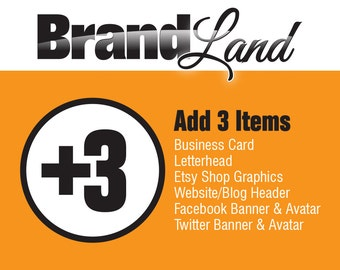 Add-On to previous Logo Purchase - 3 Items