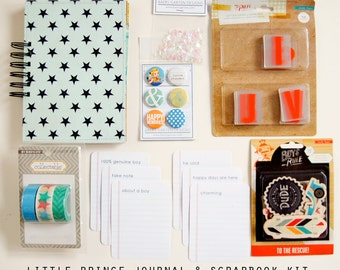 Little Prince Mini Album / Journal and Scrapbook Kit