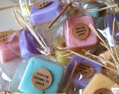 READY TO SHIP 25 Soap Wedding Favors