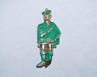 Wacky One-Legged Scotsman Bottle Opener Vintage Oddity