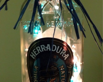 Lighted Bottle Tequila