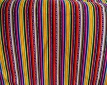 Peruvian  Fabric - aguayo  blanket - one yard-yellows