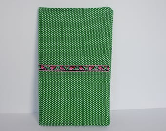 Cloth Notebook Cover with Notebook - journal - journal cover