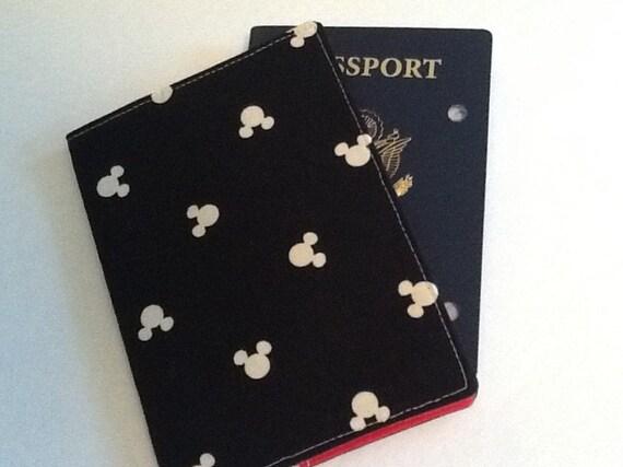 Mickey Passport Cover Passport Holder International Travel