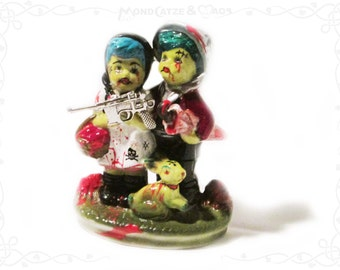 Porcelain, figure HANSEL & GRETEL - Zombie Apocalypse