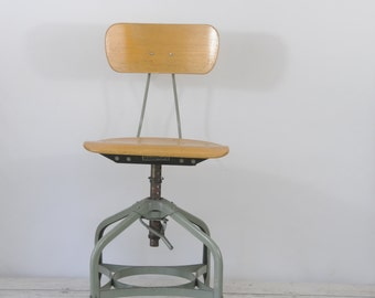 Drafting Chair Etsy