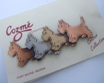 Whimscal Terrier Dog Brooch Designed by Cozme