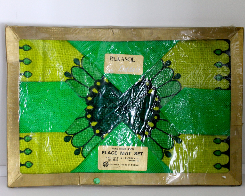 irish linen placemats napkins st patricks by notmadeinchinafinds