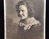 Large Original Antique Photograph Katerina