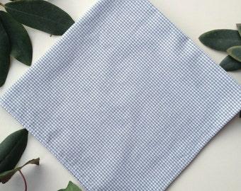 Sage Gingham Handkerchief