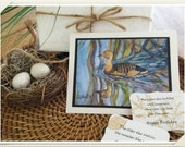 WHISTLING DUCK card set - Watercolor Paintings by Jamie Dauch Michigan Artist: Art, Cards, Gifts, Paintings, Collectibles, Lake House Decor