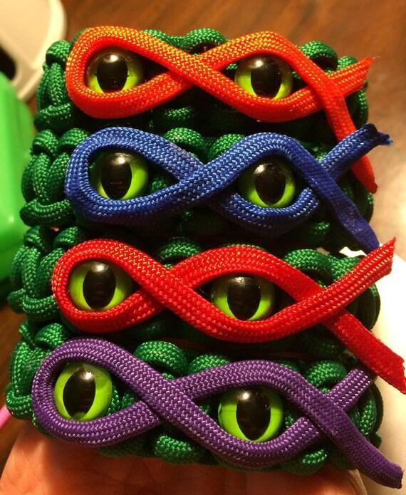 Teenage Mutant Ninja Turtles Paracord Bracelet