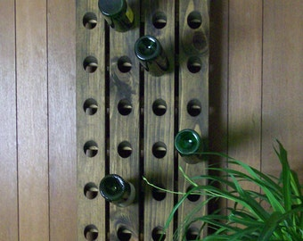 Wooden Wine Rack 24-Bottle Riddling Rack