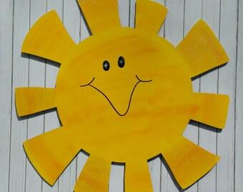 Sun Shine Wooden Door Hanger