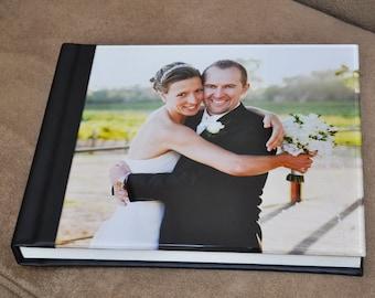 Acrylic Flush Mount Wedding Album (custom designed layouts)