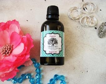 Organic Argan Oil 50 mL - 100% Pure