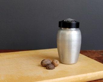 Vintage Aluminum Nutmeg Shaker by Kromex