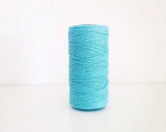 SALE 25 Yards Solid Teal Divine Twine Baker's Twine
