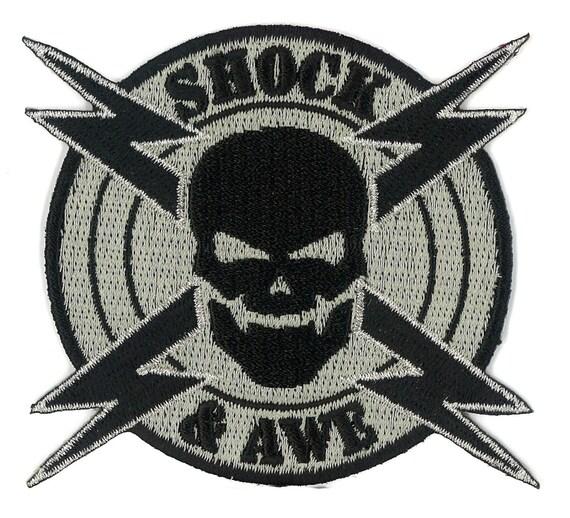 Shock Amp Awe Military Velcro Iron On Patch Militaria Milspec