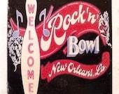 Rock N Bowl New Orleans Coaster
