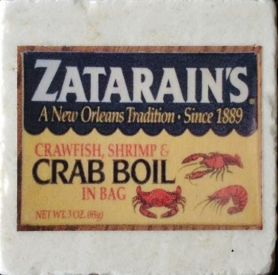 Zatarain's Spices Coaster New Orleans