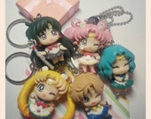 Sailor moon Final Fantasy 7 Key  charms for decoden or other crafts