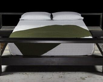 industrial modern platform bed (king)