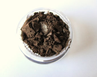 MOCHA Mineral Eye Shadow Large: Vegan, Natural & Pure Makeup