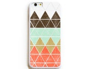 iPhone 6 Case. iPhone 6 Cases. Geometric in Mountain. Phone Case. iPhone Case. Phone Cases. Case for iPhone 6.