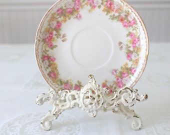 Antique GDA Gerard Dufraisseix & Abbot Limoges Saucer French Fine Porcelain China Replacement China - c. 1900 - 1941