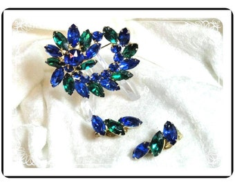 Green & Blue Set  - U Won't Be Singing The Blues With This Demi-1603a-070110000