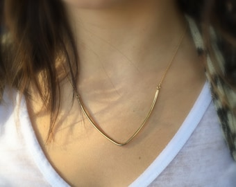Chevron Layering Necklace