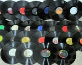 Lot of 25 Vinyl Record Albums lp's - Perfect for Crafts - DIY Supplies - FREE SHIPPING