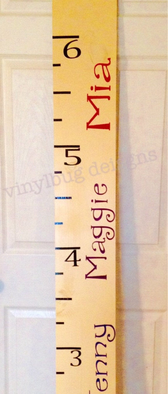 DIY Growth Chart Vinyl Decal Growth Kit Make Your Own - Make your own decal kit