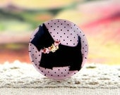 10pcs (10mm\12mm\14mm\15mm) 4pcs (16mm\18m\20mm\25mm) 2pcs (30mm) Handmade Photo Glass Cabs Cabochons--Lovely Dog
