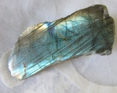 Labradorite slice   - Natural Gemstone - Multicolor Flash Labradorite