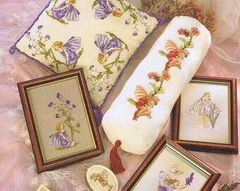 Flower Fairies Cross Stitch Chart - DMC P5018 - 8 Designs