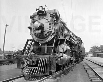 Souther Railroad Crescent Locomotive Train Photo