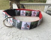 "Mowgli's the Walking Dead 1"" Buckle collar"
