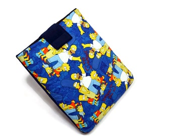 Tablet Case, iPad Case, The Simpsons, iPad Mini, Kindle Fire, 7, 8, 9, 10 inch Tablet Cover, Sleeve, Cozy, FOAM Padding, Holiday Gift