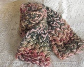 Wool Scaf Hand Knitted Multi Color